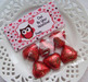 Owl Valentine Large Treat Bag Toppers