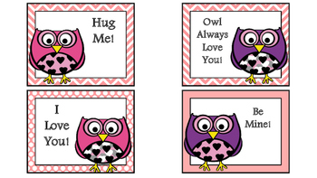 Owl Valentine's