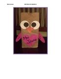 Owl Valentine's Day Bag
