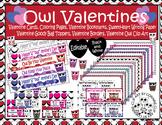 Owl Valentine's Day Mega Pack