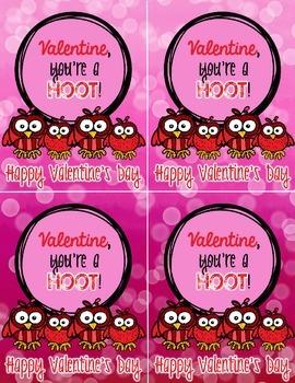 Owl Valentines for Valentine's Day