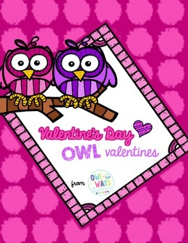 Owl Valentines for Valentine's Day
