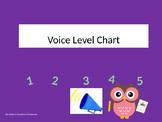 #AUSBTS18 Owl Voice Level Chart