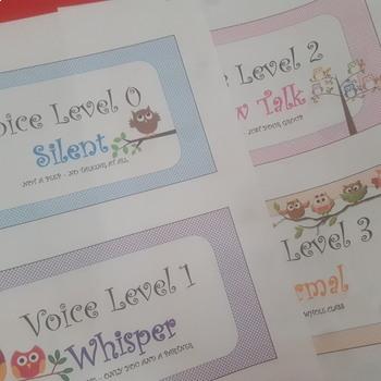 Owl Voice Level Chart