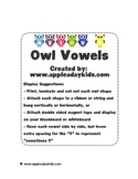 Owl Vowels