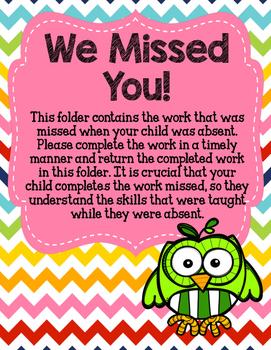 Owl We Missed You Folders!