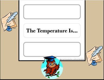 Owl Weather Chart! Owl Bulletin Board! Owl Theme! Owl Decor!