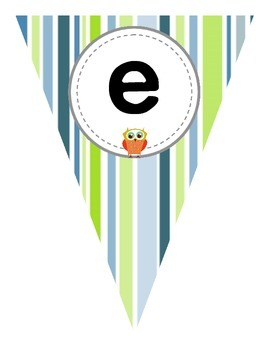 Free Owl Welcome Banner Flag