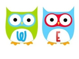 Owl Welcome Cut Outs