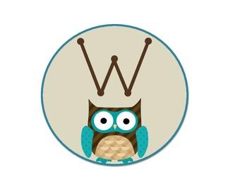 Owl 'Welcome' Door Sign