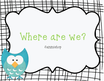 """Owl """"Where are we?"""" signs!"""