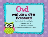 Owl Writer's Eye Posters