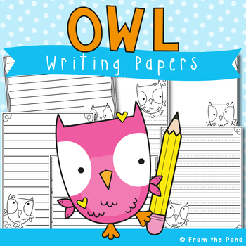 Owl Writing Papers - Fall Writing Activities