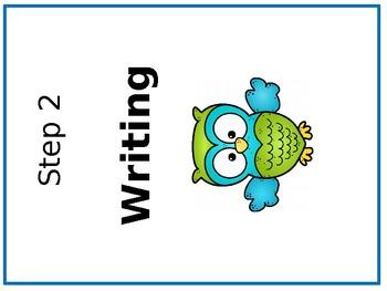 Owl Writing Process Binder Sheets