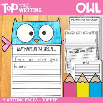 Owl Writing with Topper {Fall Activities}