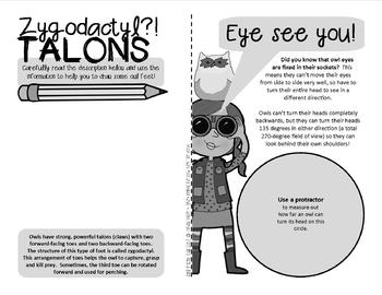 Owl about Owls!  {Fun & facts bird booklet with an owl pellet focus}