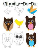 Owl and Bird Clipart