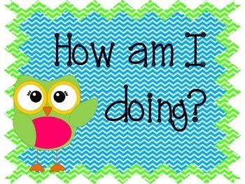 Owl and Chevron Behavior Chart