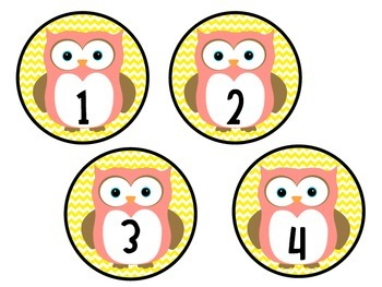 Owl and Chevron Numbers