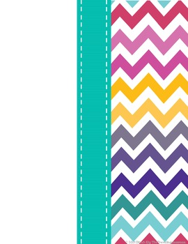 Owl and Chevron Polka Dots Notebook Covers {Editable}