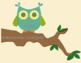 Owl and Polka Dots Job Bulletin Board Set