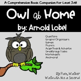 Owl at Home A Book Companion for Comprehension
