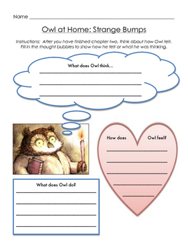 Owl at Home Packet