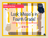 Owl be in Fourth Common Core Posters