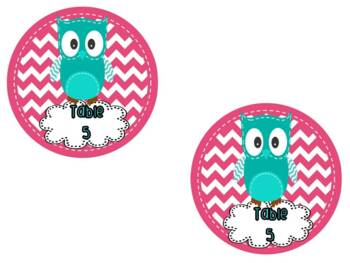 Owls { classroom theme pack }