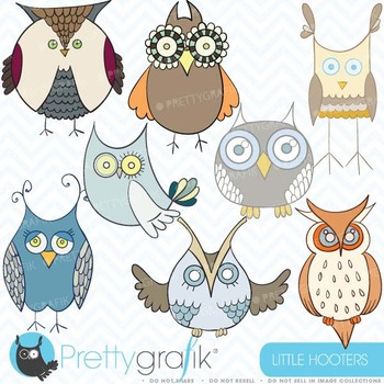 Owl clipart commercial use, vector graphics, digital clip art - CL324