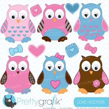 Owl clipart commercial use, vector graphics, digital clip art - CL373