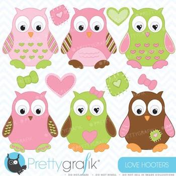 Owl clipart commercial use, vector graphics, digital clip art - CL374