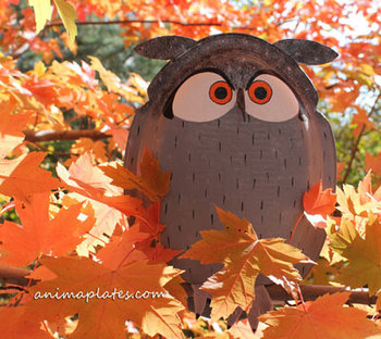 Owl crafts and resources
