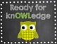 Owl-dorable Behavior Clip Chart-Chalkboard Style!