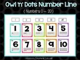 Owl 'n' Dots Number Line