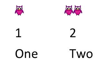 Owl numbers 1-10