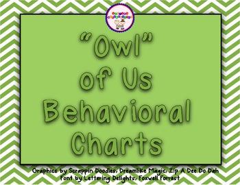 """Owl"" of Us Behavioral Charts"