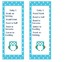 Owl or Flower Themed Daily 5 Bookmarks