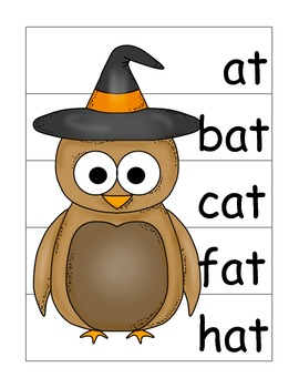 Owl-oween -at Family Word Activities
