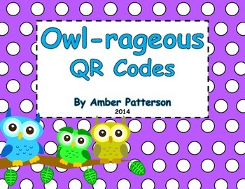 Owl-rageous QR Codes (For An Owl Unit)