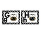 Owl themed   Alphabet Word Wall  & Number (1-20)Cards :