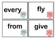 Owl themed Dolch Sight Words flashcards (1st & 2nd grade)