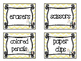 Owl themed Printable Basket Labels Classroom Organizer Set