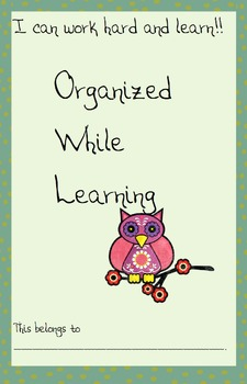 Owl-themed classroom management and organization packet