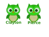 Owl themed locker decks