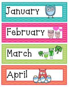 Owl weather chart