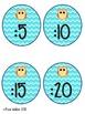 Owl/Chevron Clock Labels