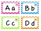 Owl/Chevron Word Wall Labels