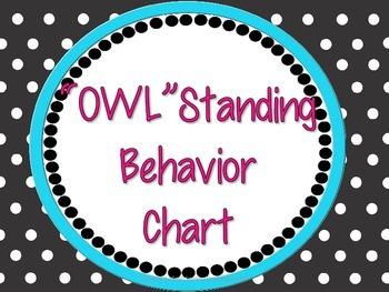 OwlStanding Behavior Chart