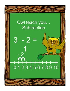 Owl...Teach You To Subtract